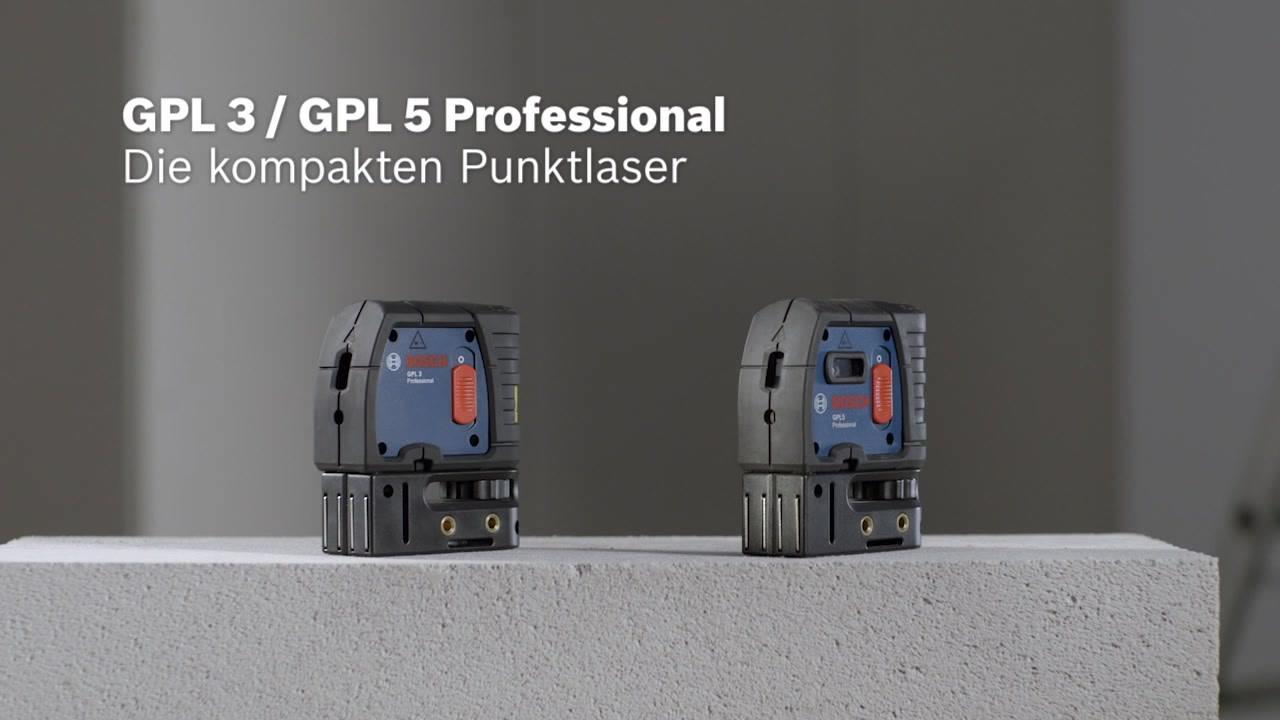 Laser Entfernungsmesser Rechter Winkel : Gpl punktlaser bosch professional
