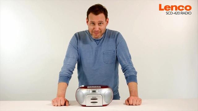 Lenco - SCD-420 Radio Video 3