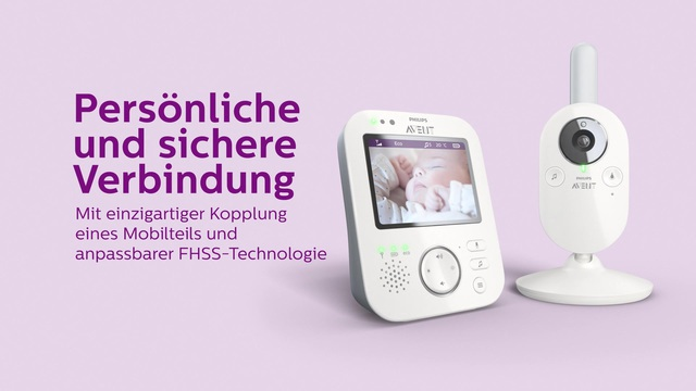 Philips AVENT Babyphone SCD630/26 Video 3