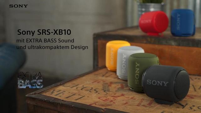 Sony - SRS-XB10 kabelloser Lautsprecher Video 3