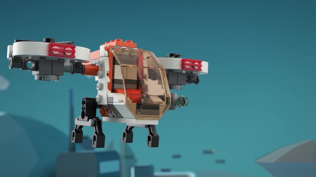 LEGO Creator - Forschungsdrohne 31071 Video 3