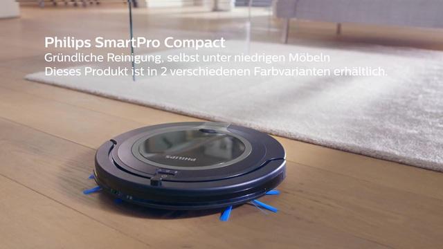 Philips FC871501 SmartPro Compact Staubsaug Roboter silber