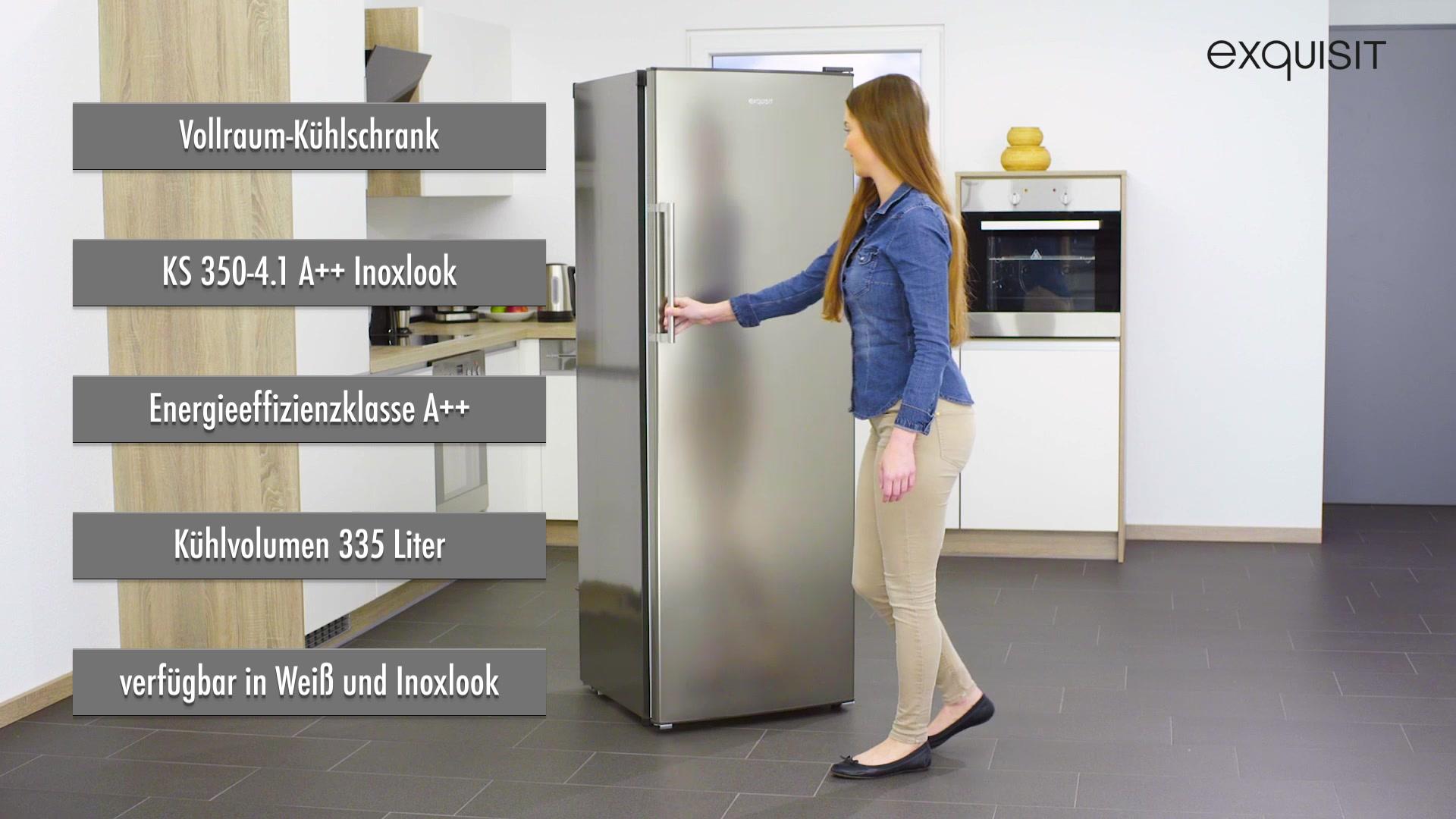 Kühlschrank Exquisit : Exquisit kühlschrank ks a a cm hoch