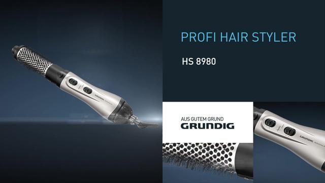 Grundig - Profi Hair Styler HS 8980 Video 2