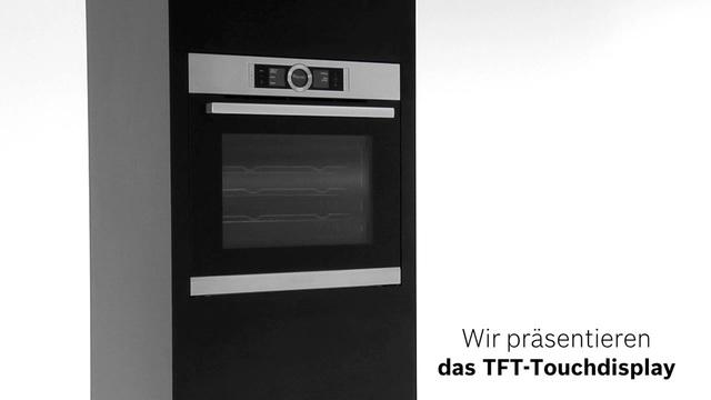 Bosch - TFT-Touchdisplay der Bosch Serie 8 Video 13