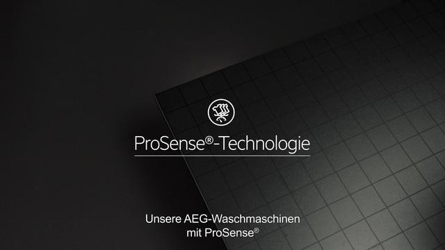 AEG - ProSense Technologie - Doppelt effektive Pflege Video 13