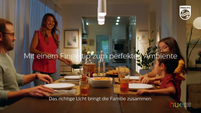 Philips - Hue - Dinner Time Switch Video 9