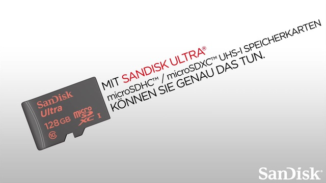 SanDisk - Ultra microSDHC / microSDXC UHS-I Speicherkarten Video 2