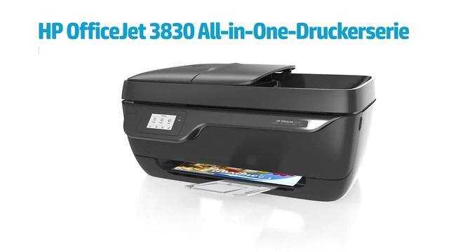 HP - OfficeJet 3830 All-in-One-Druckerserie Video 3