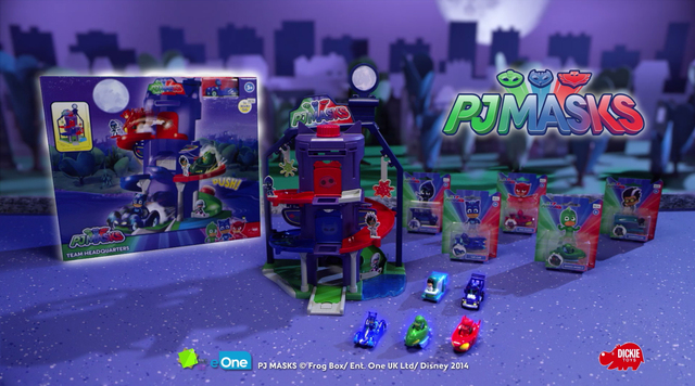 PJ Masks Team Headquarters von Dickie Toys Video 2