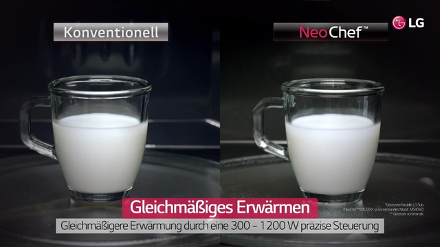 LG - NeoChef Mikrowellen Video 3