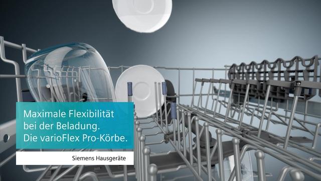 Siemens - varioFlex Pro Korb Video 3