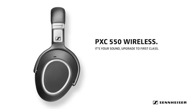 Sennheiser - PXC 550 Wireless Video 3