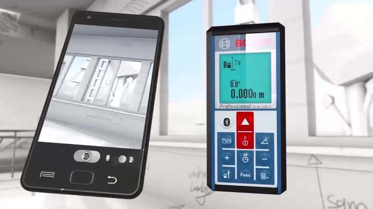 Laser Entfernungsmesser App Android : Glm c laser entfernungsmesser bosch professional