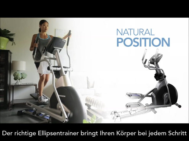 Horizon Fitness - Ellipsentrainer Video 10