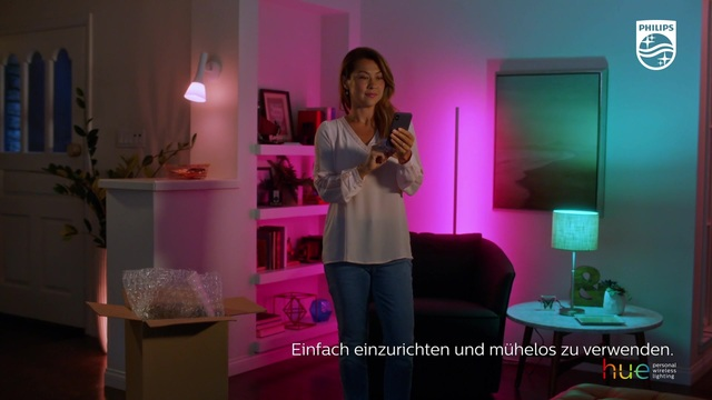 Philips - Hue - Smart Lighting Video 3