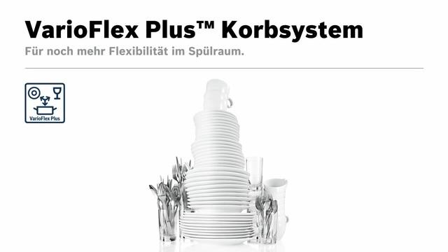 Bosch - VarioFlex Plus Korbsystem Video 9