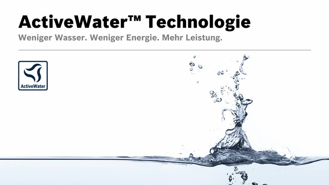 Bosch - ActiveWater Technologie Video 11
