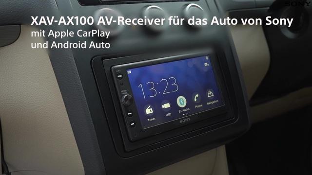 Sony - XAV-AX100 Auto AV Receiver Video 3