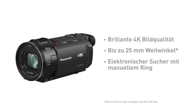 Panasonic - HC-VXF11 Camcorder Video 3