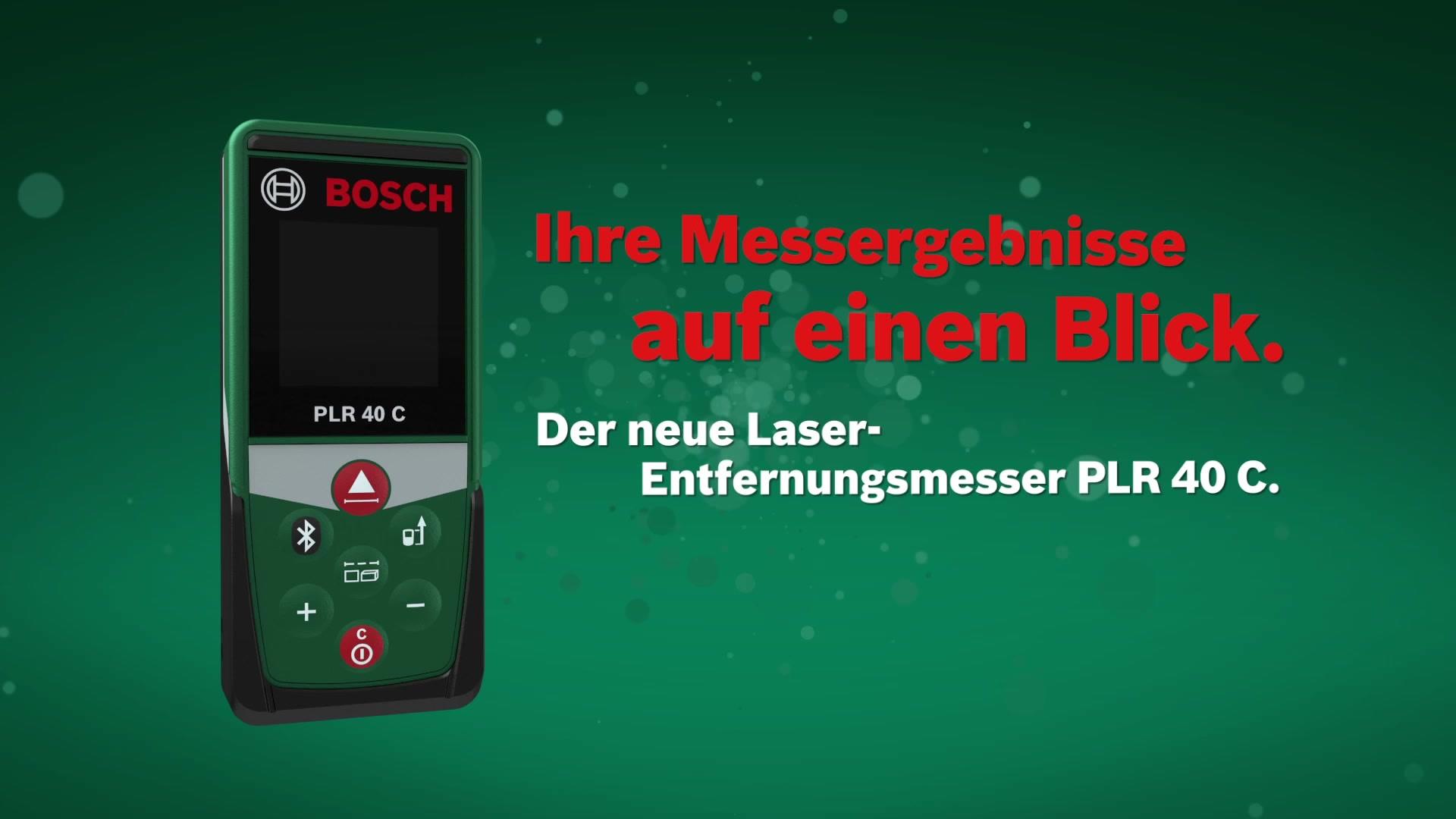 Bosch entfernungsmesser plr c« hagebau