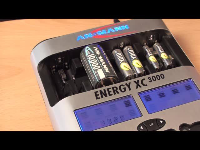 Ansmann - Akkumanagement-System Energy XC300 Video 3