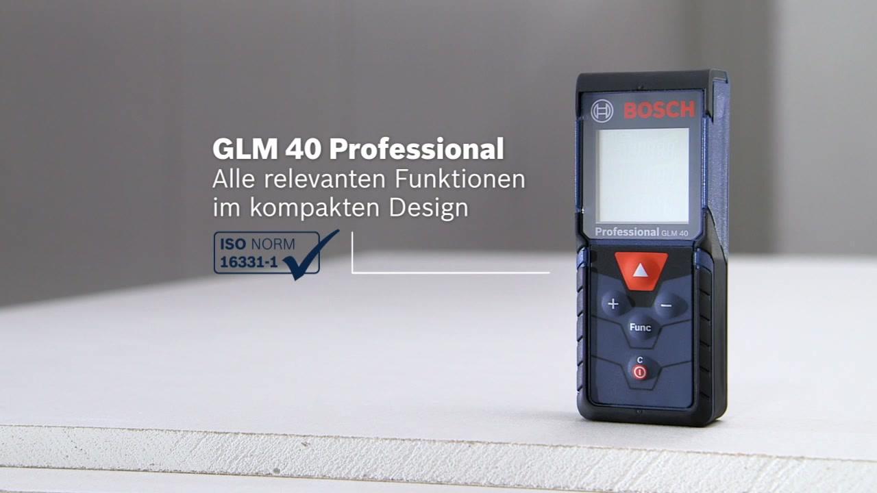 Glm laser entfernungsmesser bosch professional
