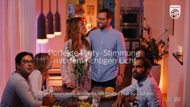 Philips - Hue - Dinner Party Video 10