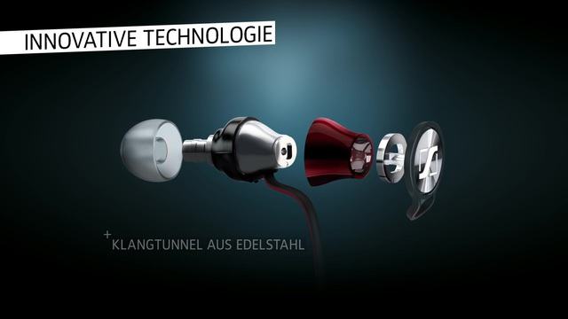 Sennheiser - Momentum In Ear Headset Video 3