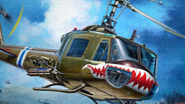 Revell - Bell UH-1C Video 3
