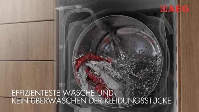 AEG - Waschmaschinen mit OptiSense Video 6