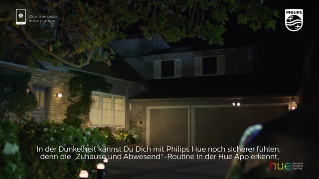 """Philips - Hue - """"zuhause & abwesend""""-Routine Video 24"""