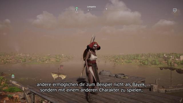 Assassin's Creed Origins für PC - Animus Control Panel Video 3