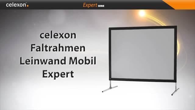 Celexon - Faltrahmen Leinwand Mobil Expert Video 3