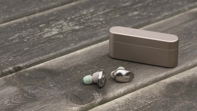 Sony - WF-1000X kabellose Kopfhörer Video 3