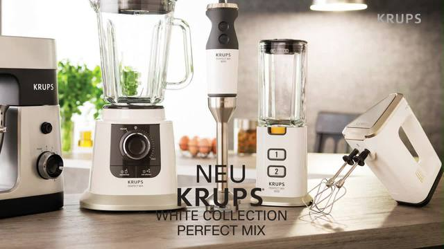Krups - White Collection Perfect Mix Video 3