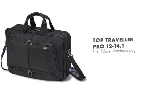 Dicota - Top Traveller Pro 12-14.1 Video 3