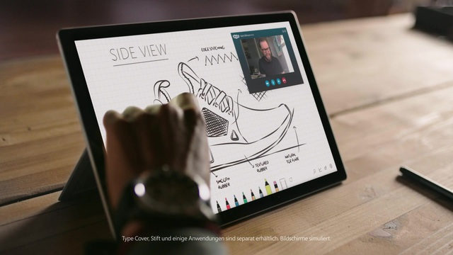 Surface Pro_sneakerhead_30sec Video 3