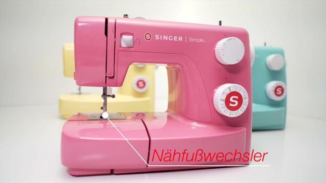 Singer - Simple 3223 Nähmaschine Video 2