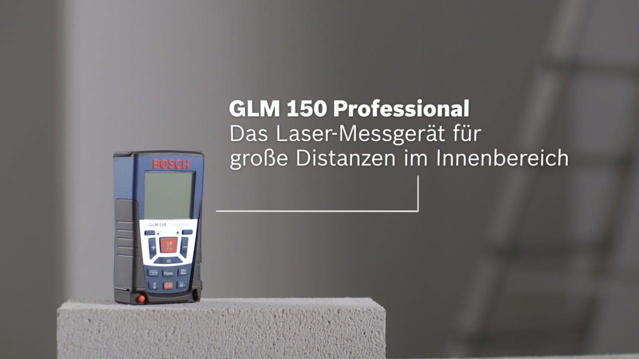 Bosch Entfernungsmesser Dle 150 : Glm laser entfernungsmesser bosch professional