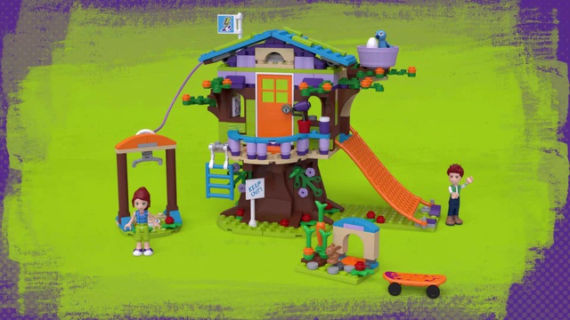 LEGO friends - Mias Baumhaus 41335 Video 3