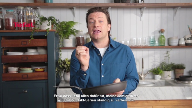 Tefal - Jamie Oliver - High Quality Cookware Video 3