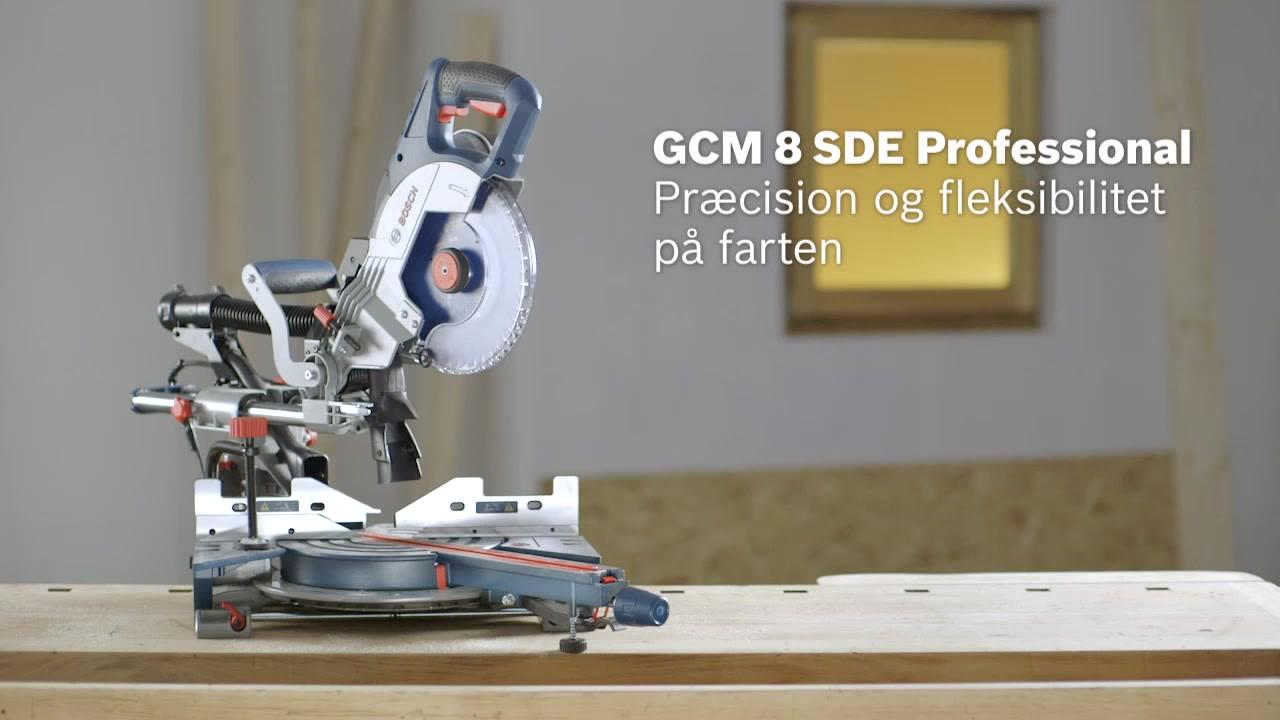 Storslåede GCM 8 SDE Kap-/geringssav med udtræk | Bosch Professional GY25