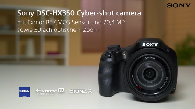Sony - DSC-HX350 Cyber-shot Video 3