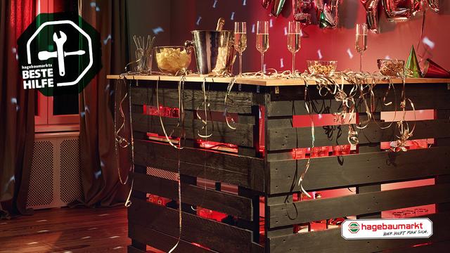 Mobile Partybar: DO-IT-YOURSELFIE | hagebau.de