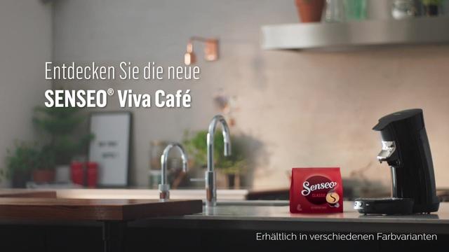 Philips Senseo Viva Café Kaffeepadmaschine Video 3