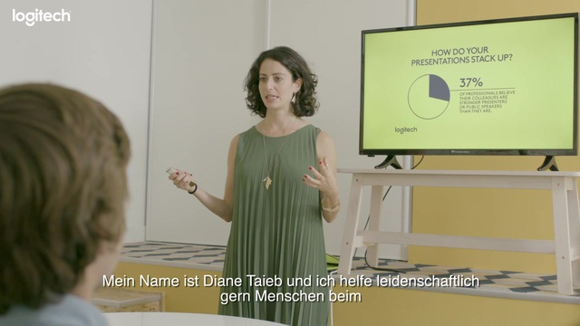 Logitech - Spotlight Presenter - Diane Taieb Video 13