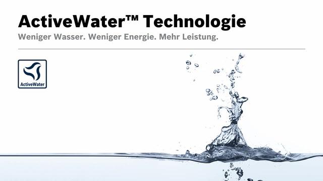Bosch - ActiveWater Technologie Video 11