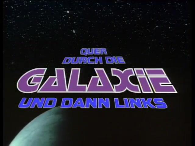 Quer durch die Galaxie und dann links Video 3