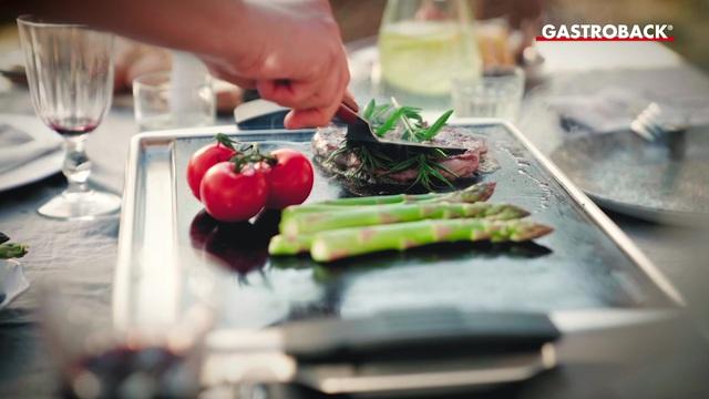 Gastroback - Teppanyaki Glas-Grill Advanced Video 3